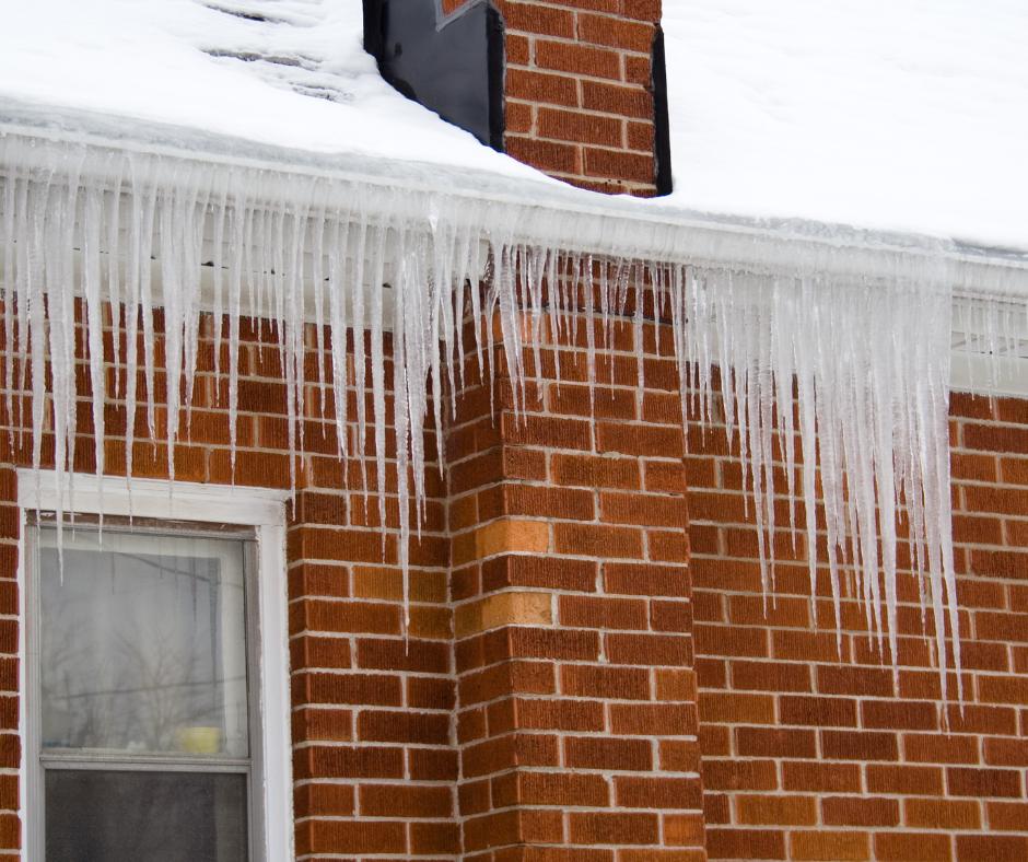 ice dams house